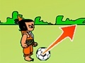 Игра Calabash Brother Plays Footbal