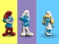 Игра Smurfs Colours Memory