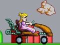 Игра Peach Car Racing