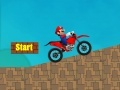 Игра Super Mario Motorcycle Rush