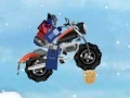 Permainan Transformers Prime Ice Race