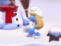 Igra The Smurf's Snowball Fight