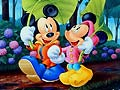 Gioco Mickey - Friends find the alphabet