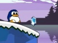 Game The penguin of fish is a little love