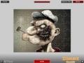 Игри Popeye Zombie Puzzle