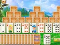 Permainan Three Towers Solitaire