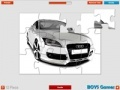 Игра Audi Super Car Puzzle