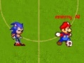 Žaidimas Mario Vs Sonic Football