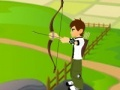 Ben 10 Bow and Arrow Shooting קחשמ