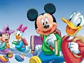 Gioco Mickey School Online Coloring