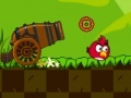 Игра Angry birds guarding chicks
