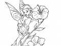 Spiel Coloring Tinker Bell -1