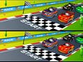 Igra Racing Cartoon Differences