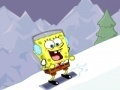Spel SpongeBob squarepants snowboarding in Switzerland