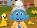 Game Smurfs Baby Bathing