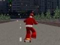 Игра Skateboarding Santa