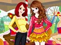 Игра Chic Autumn Travel Sisters