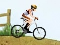 Игра The race on a mountain bike