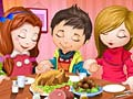Game Cute Children Thanksgiving Day