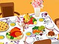 Игра Thanksgiving Table Setting