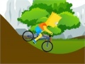 Spiel Bart Simpson Bicycle Game