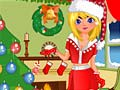 Игра Christmas Day Girl
