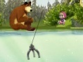 Cluiche Masha and  Bear: Fishing