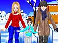 Игра Ice Skating Family
