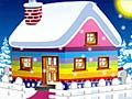 Игра Winter Cottage Decoration